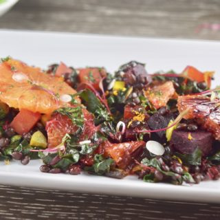 Beet, Lentil & Orange Salad with Five-Spice Vinaigrette
