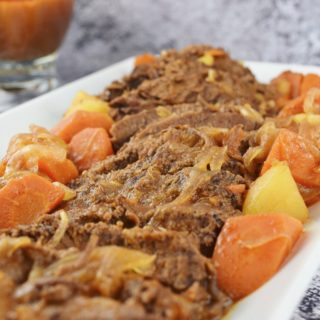 Sweet and Sour Beef Brisket