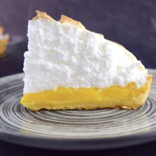 Mile High Meyer Lemon Meringue Pie